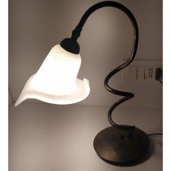 CME -LAMPADA TAVOLO ORO/SCAVO