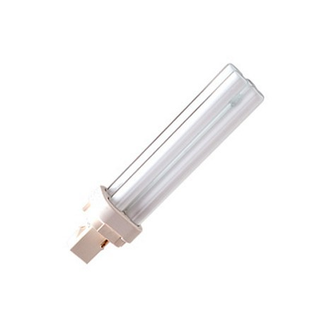 LAMPADINA FLUORESCENTE COMPATTA 10W G24d1