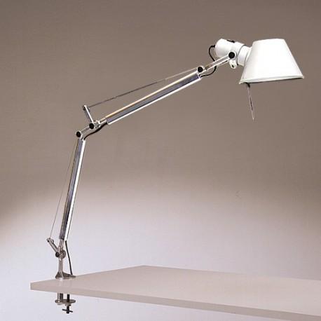 Artemide tolomeo mini led tavolo con morsetto click - Lampada da tavolo con pinza ...